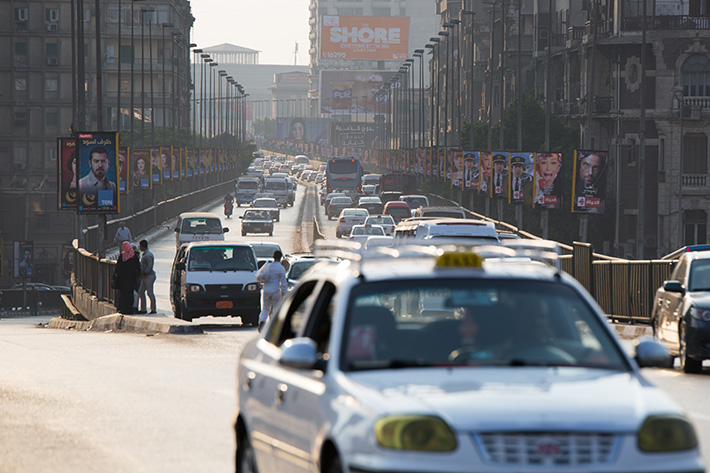 Avoiding trouble while hiring Cairo local taxis