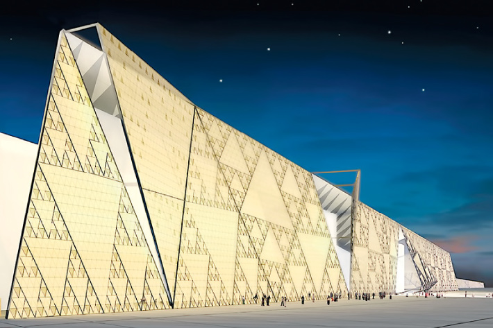 5 Facts about The New Grand Egyptian Museum.